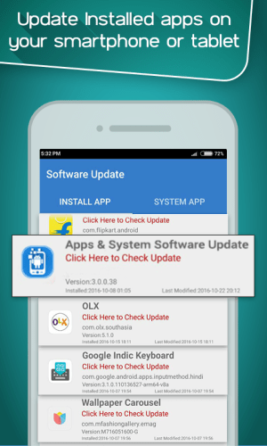 App Update Checker 1.19 Screen 1