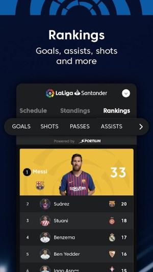 La Liga - Spanish Football League Official 7.3.8 Screen 11