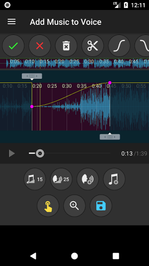 Add Music to Voice 2.0.4c Screen 3