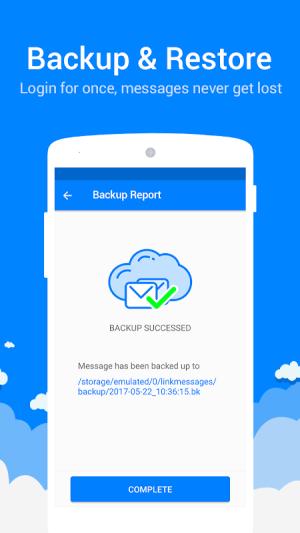 Messenger for SMS 2.2.4 Screen 3