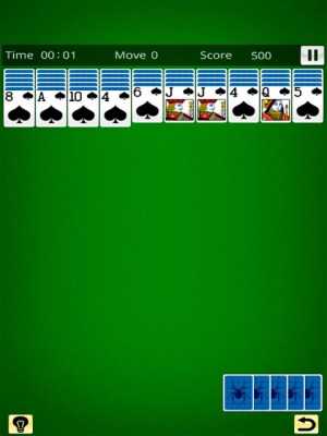 Spider Solitaire King 19.11.30 Screen 3