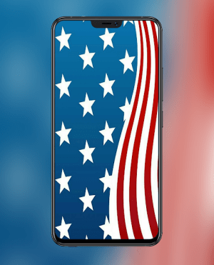 Android American Flag Wallpapers and Backgrounds Screen 2