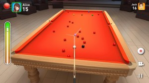 Android Real Snooker 3D Screen 1