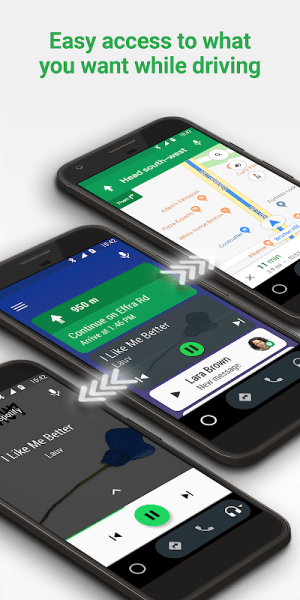 Android Auto - Google Maps, Media & Messaging 5.0.500214-release Screen 4