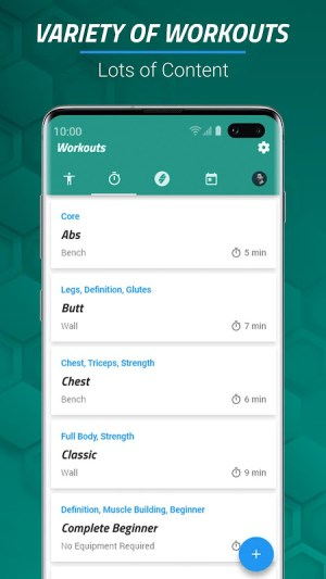 7 Minute Workouts FREE 4.3.64 Screen 3
