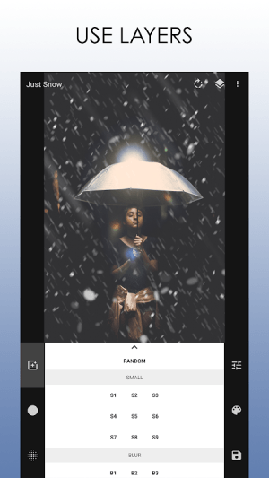 Just Snow – Photo Effects 2.3.1 Screen 12