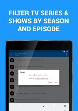 Subtitles for Movies & TV Series 1.3.1 Screen 10