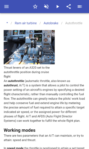 Construction of aircraft 8.5.4 Screen 6