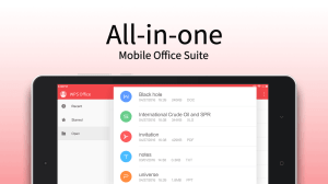 Android WPS Office + PDF Screen 9