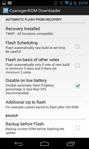 CM Downloader 2.0Beta6 Screen 3
