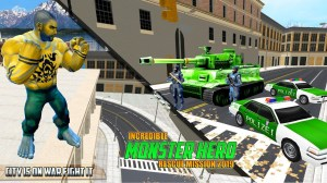 Android Incredible Monster Superhero Crime City 2018 Screen 3