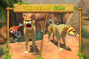 Android Cheetah Family Sim - Animal Simulator Screen 3