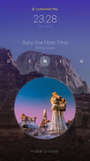 Android Music Player - MP3 Player Screen 8