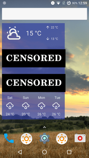 Fu*** Weather (Funny Weather) 10.2.1-beta (20190820 18:38)-release Screen 6