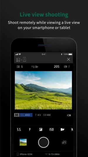 FUJIFILM Camera Remote 4.4.1(Build:4.4.1.1) Screen 4