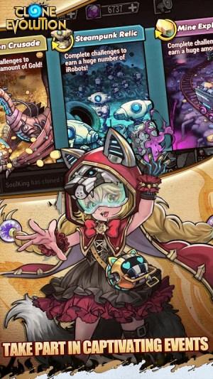 Clone Evolution: RPG Battle-Future Fight Fantasy 1.4.0 Screen 7