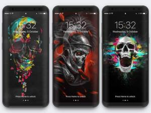 Android Skull Wallpapers and Backgrounds Screen 12