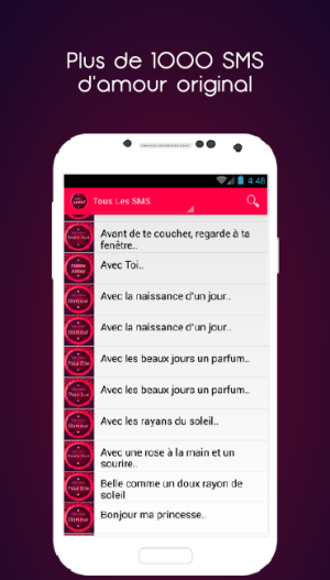 Sms Amour Apks Android Apk