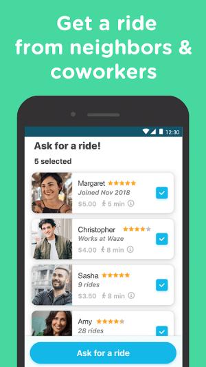 Waze Carpool - Ride together. Commute better. 2.24.0.4 Screen 2