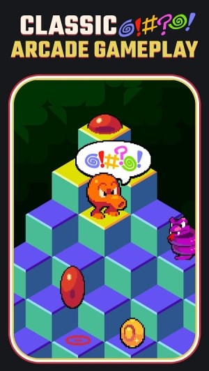 Q*bert 1.3.4 Screen 6