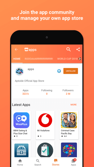 Aptoide 9.7.0.1 Screen 6