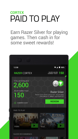 Razer Cortex 4.2.144 Screen 1