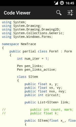 Code Viewer 2.6.1 Screen 1