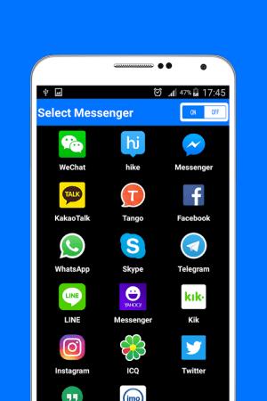 Messenger 1.0 Screen 1