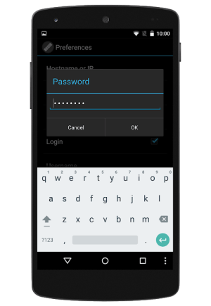 Android ENIGMA2 REMOTE CONTROL Screen 5