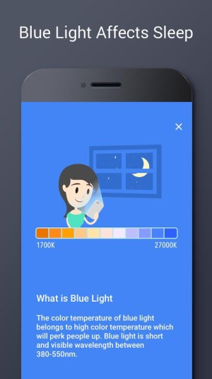 Blue Light Filter - Night Mode, Night Shift 1.4.7N Screen 1