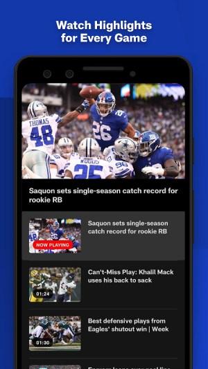 NFL 17.5.0 Screen 4