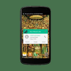 Android Smart Call Notifier & blocker Screen 6