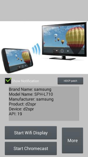 Wifi Display (Miracast) 1.0.103 Screen 1
