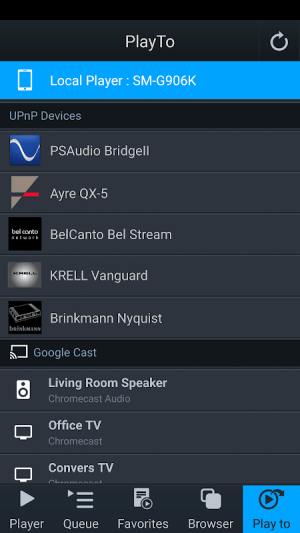 mconnect Player – Google Cast & DLNA/UPnP 3.2.7 Screen 2