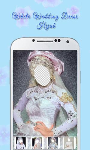 White Wedding Dress Hijab 1.3 Screen 4