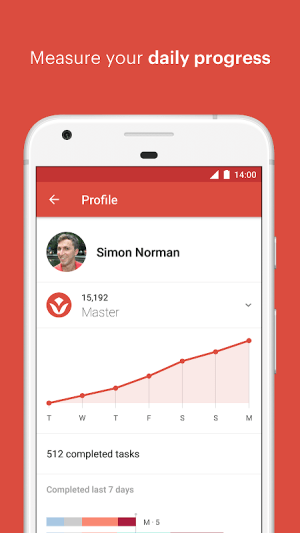 Todoist: To-do lists for task management & errands 14.0-beta2 Screen 2