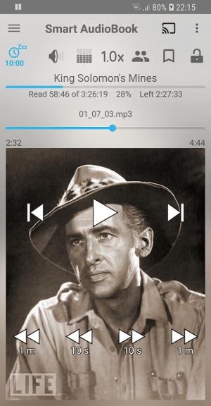 Smart AudioBook Player 4.6.3 Screen 1