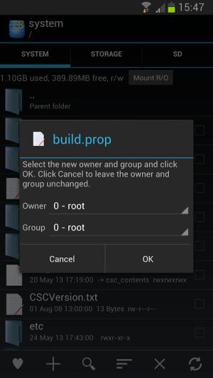 Root Explorer 3.1.7 Screen 6