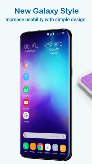 Launcher  Galaxy S10 Style 3.4 Screen 5