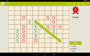 Android Tic Tac Toe Screen 3
