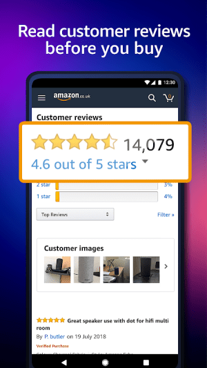 Amazon Shopping 20.1.0.100 Screen 4