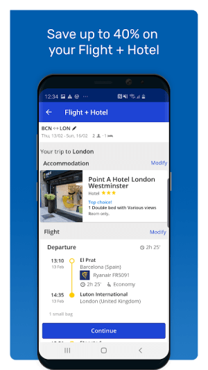 eDreams: Book cheap flights and travel deals 4.144.0 Screen 5