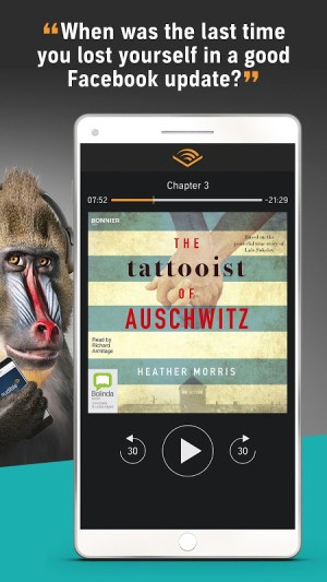 Audiobooks from Audible 2.26.0 Screen 2