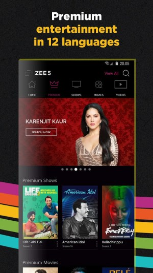ZEE5 | LIVE TV + Original Movies & TV Series 14.15.9 Screen 2