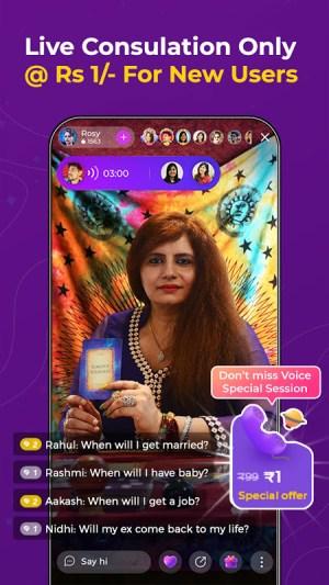 Guruji - Live Astrology, Horoscope, Kundli, Tarot 2.23.0 Screen 5