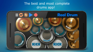 Real Drum - The Best Drum Pads Simulator 7.17 Screen 1