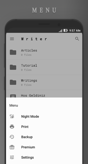 Android Writer Screen 4
