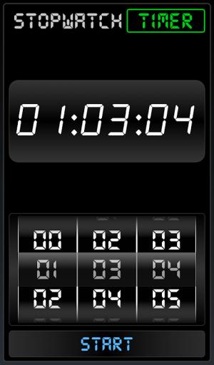 Stopwatch Timer 1.2.0 Screen 2