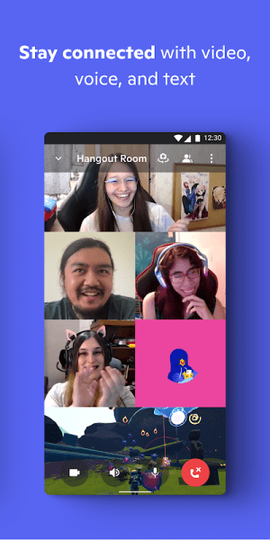Discord - Talk, Video Chat & Hang Out with Friends 84.1 - Alpha Screen 4