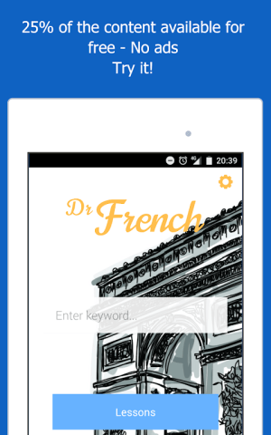 Dr French, French grammar 1.0.10 Screen 20
